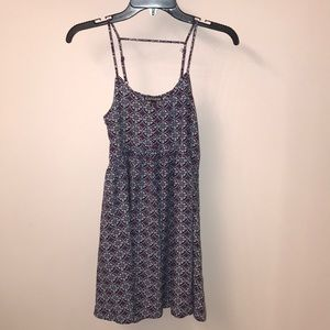 Express cute printed cotton dress Small